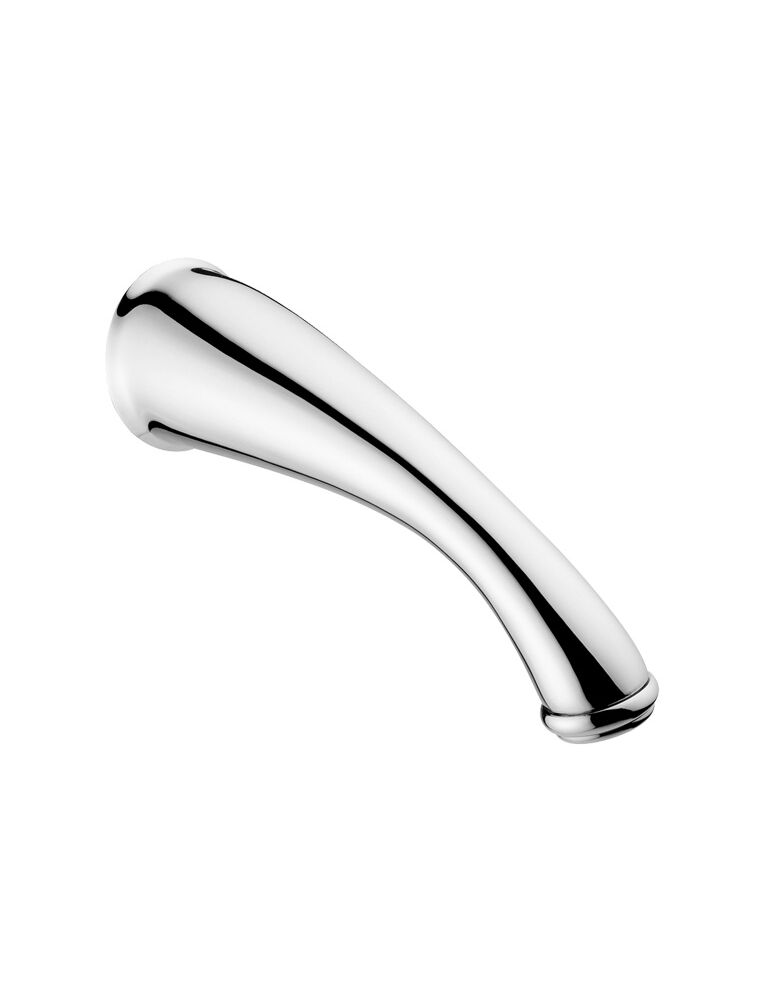 Gaia Mobili - accessori rubinetteria - complementi - rubinetteria - RB19313 - Bocca a parete tradizionale 18 cm