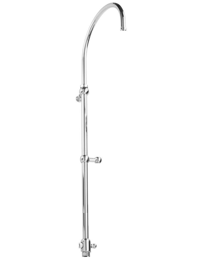 Gaia Mobili - accessori rubinetteria - complementi - rubinetteria - RG3175 - Asta doccia telescopica con deviatore e gancio scorrevole