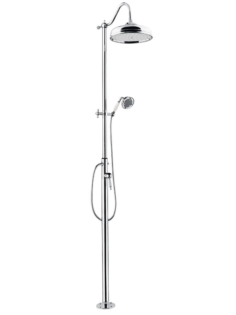 Gaia Mobili - complementi - Canterbury - rubinetteria - RF508 - Colonna doccia completa Ø 300 mm