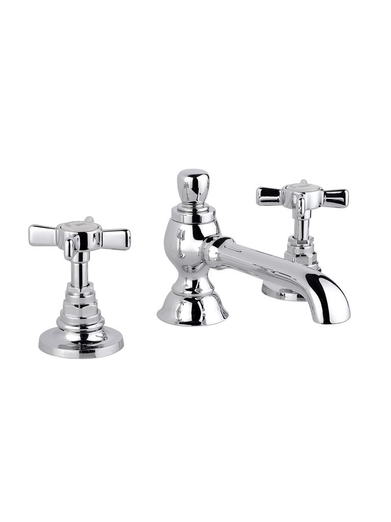 Gaia Mobili - complementi - rubinetteria - Victoria - RN512 - Batteria 3 fori lavabo