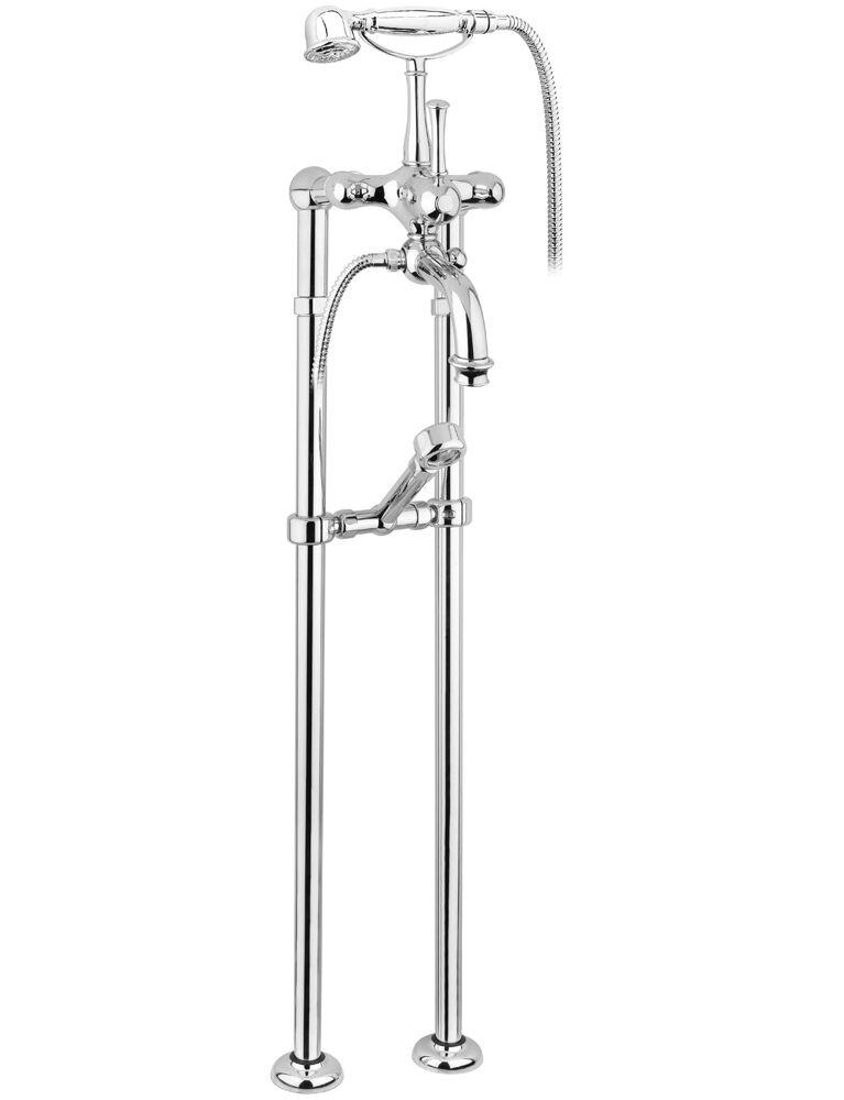 Gaia Mobili - Aston - complementi - rubinetteria - RB6400/C - Aston Gruppo vasca con colonne a pavimento