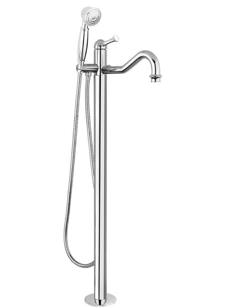 Gaia Mobili - Aston - complementi - rubinetteria - RB6460 - Monocomando a pavimento per vasca