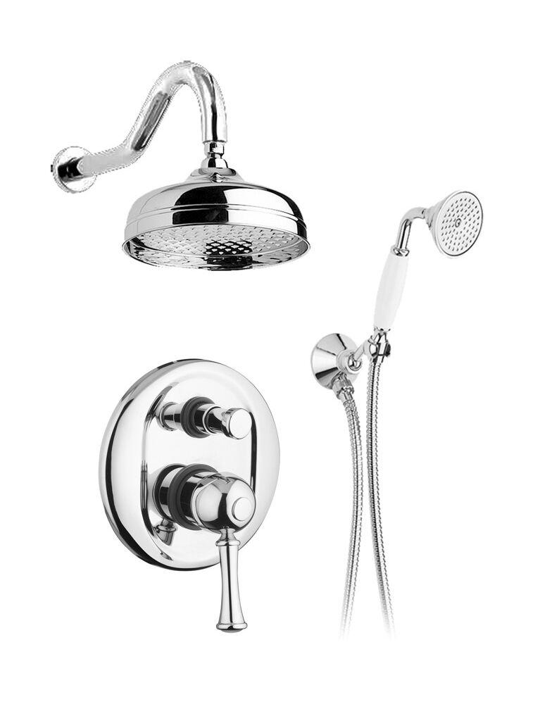 Gaia Mobili - Aston - complementi - rubinetteria - RB6498 - Gruppo doccia incasso