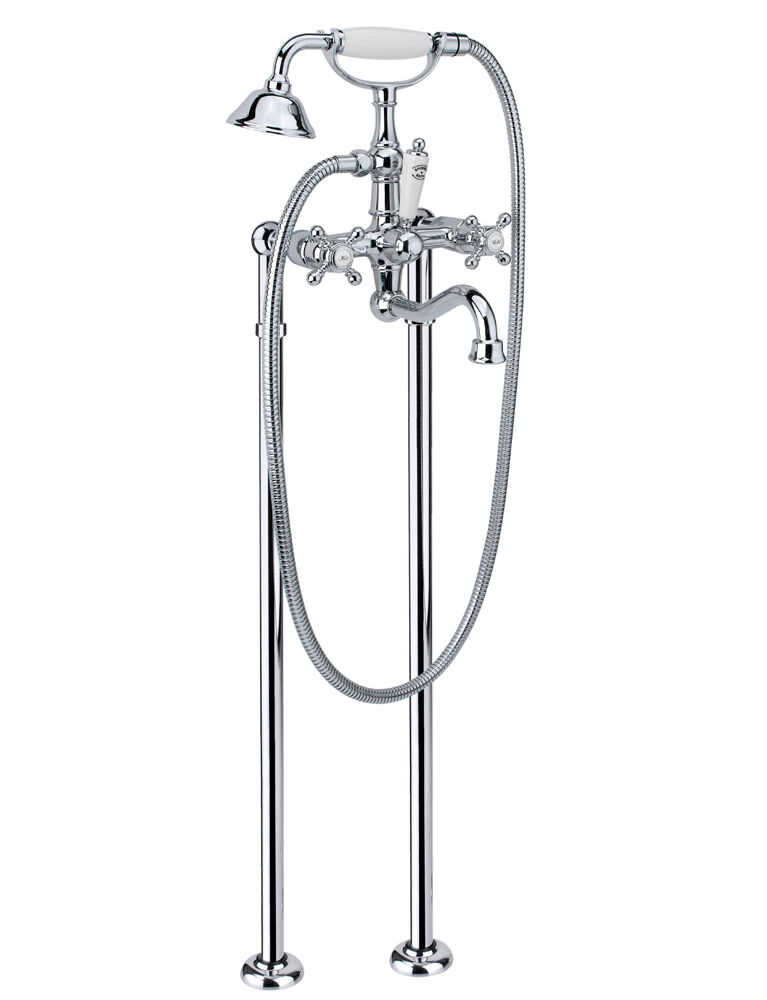 Gaia mobili - collection - faucets - Julia - RN8300/C2 - Bath mixer with floor stand-pipe