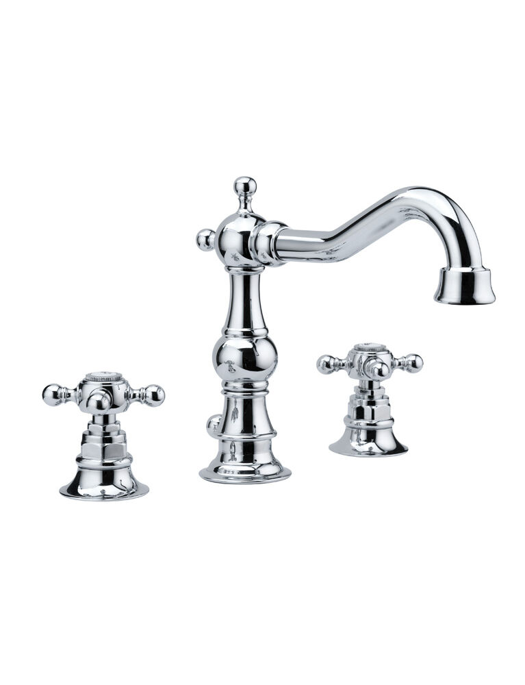 Gaia mobili - collection - faucets - Julia - RN8312 - 3 tap hole basin mixer