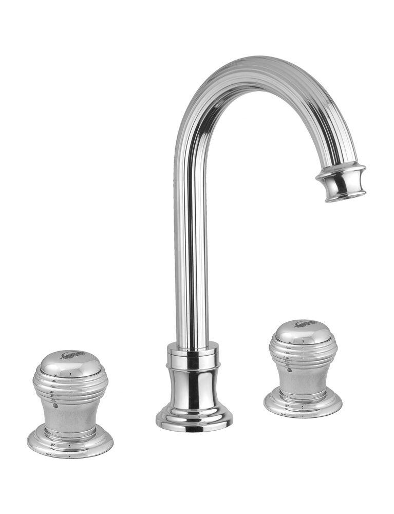 Gaia Mobili - complementi - Olympia - rubinetteria - RB8412 - Batteria 3 fori lavabo