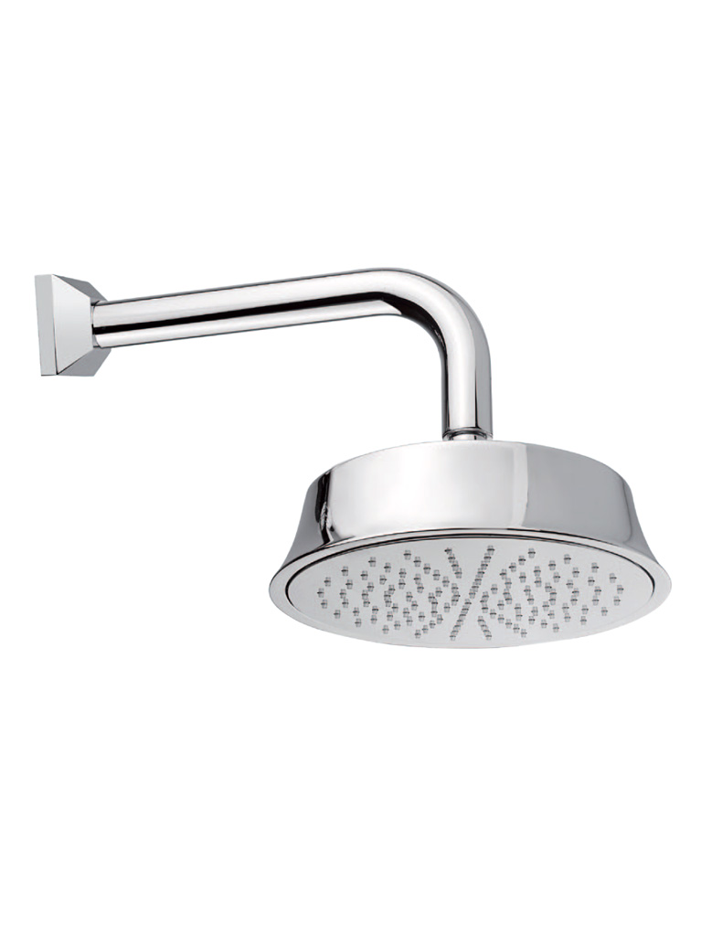 Gaia Mobili - complementi - Heisenberg - rubinetteria - RB98302 - Braccio doccia completo di soffione Ø 215 mm