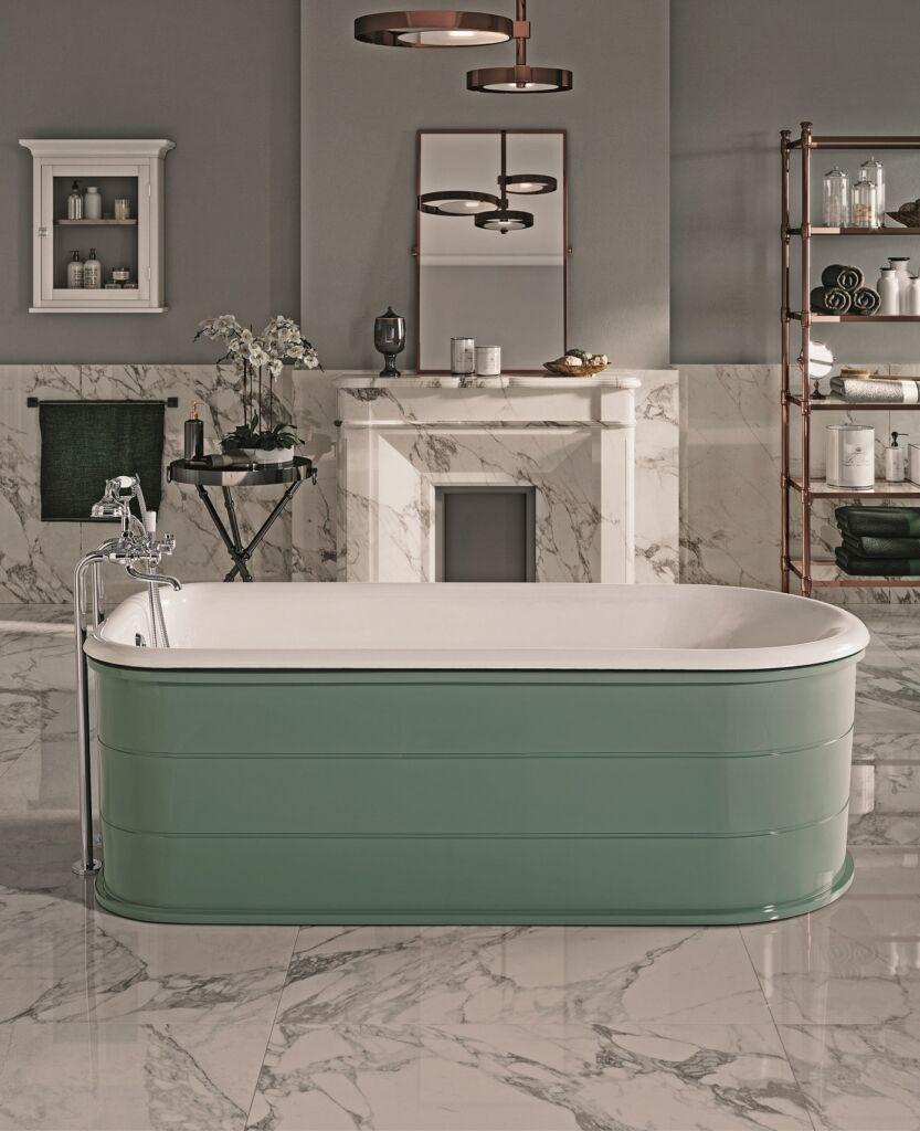 GAIA Mobili - Cast iron - bathtubs - Crosby - Bathroom furniture