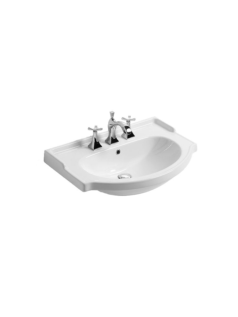 Gaia Mobili - complementi - lavabi - lavabi ceramica - AMER74 - lavabo in ceramica