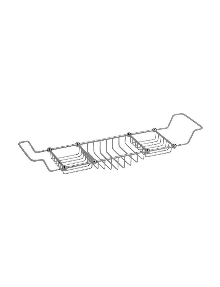 Gaia mobili - accessori - accessori vari - complementi - vasche - AMLN19 - Porta oggetti vasca Lincoln