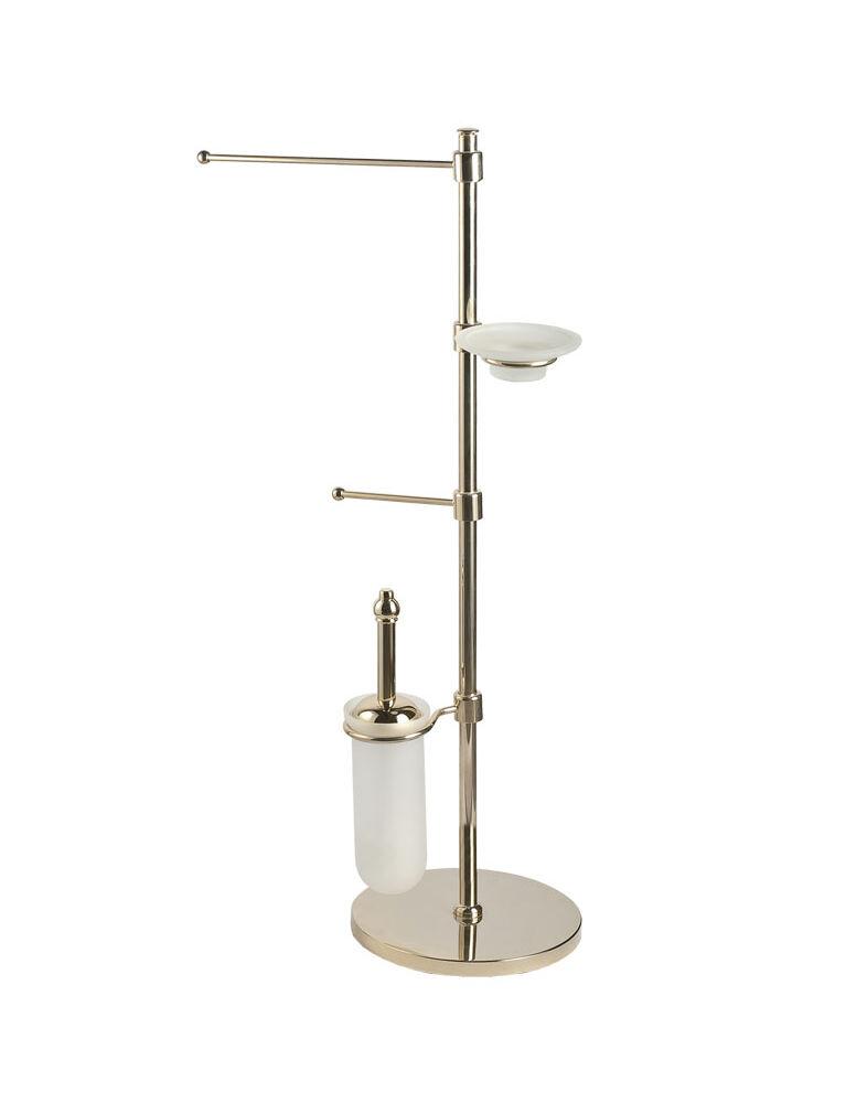 Gaia Mobili - accessori - complementi - Regnet - AMRG13 - Piantana portsalviette e scopino