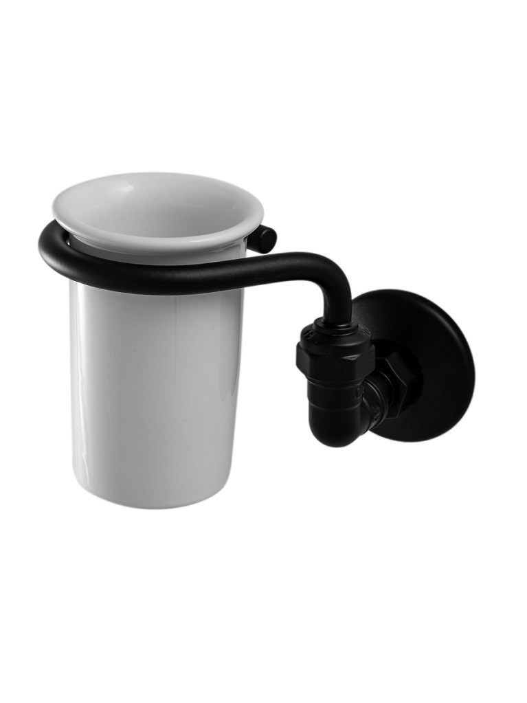 Gaia Mobili - accessori - complementi - Tubò - AMTU00 - Porta bicchiere a muro