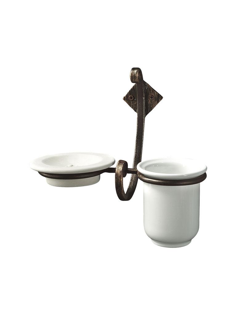 Gaia mobili - accessori - acess - complementi - ANAC05 - Porta bicchiere e sapone Access