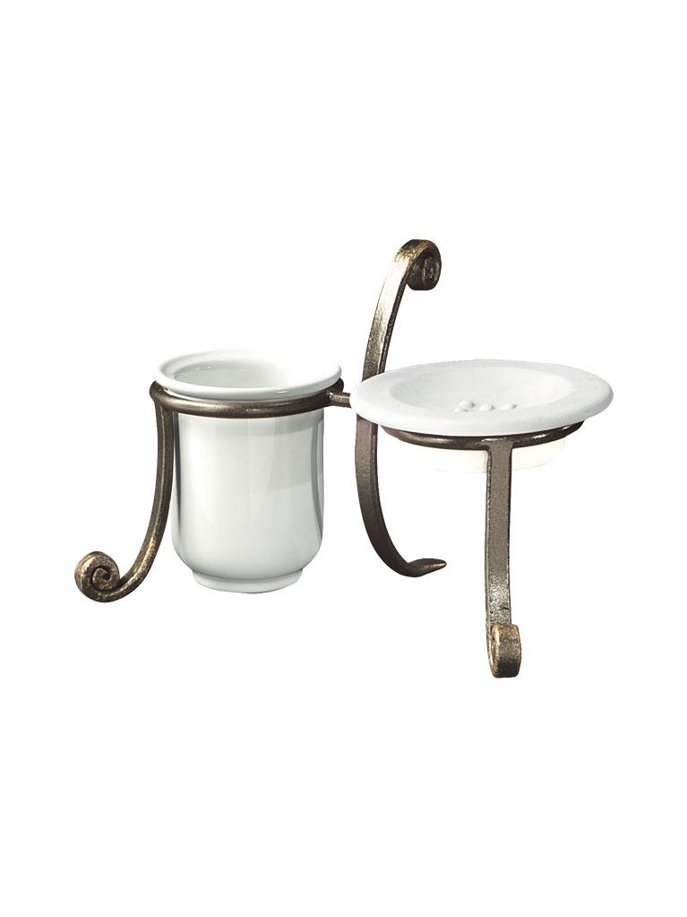 Gaia mobili - accessori - acess - complementi - ANAC06 - Porta bicchiere e sapone Access