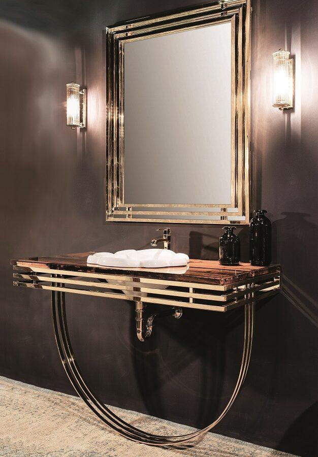 Gaia Mobili - complementi - New Style - mobili - Artdecò 1 - Mobile in finitura Luxury