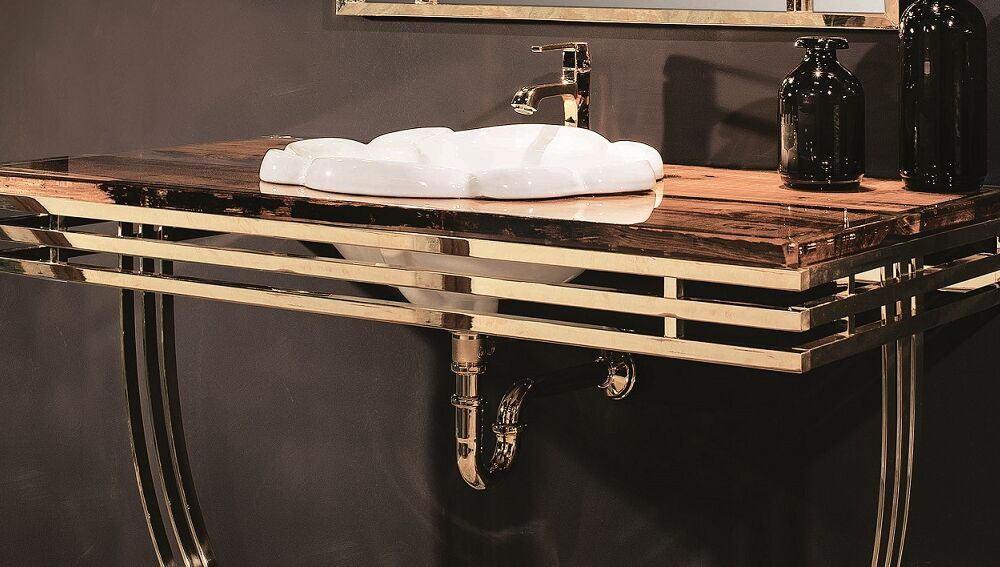 Gaia Mobili - complementi - lavabi - lavabi ceramica - BETA - lavabo in ceramica soprapiano