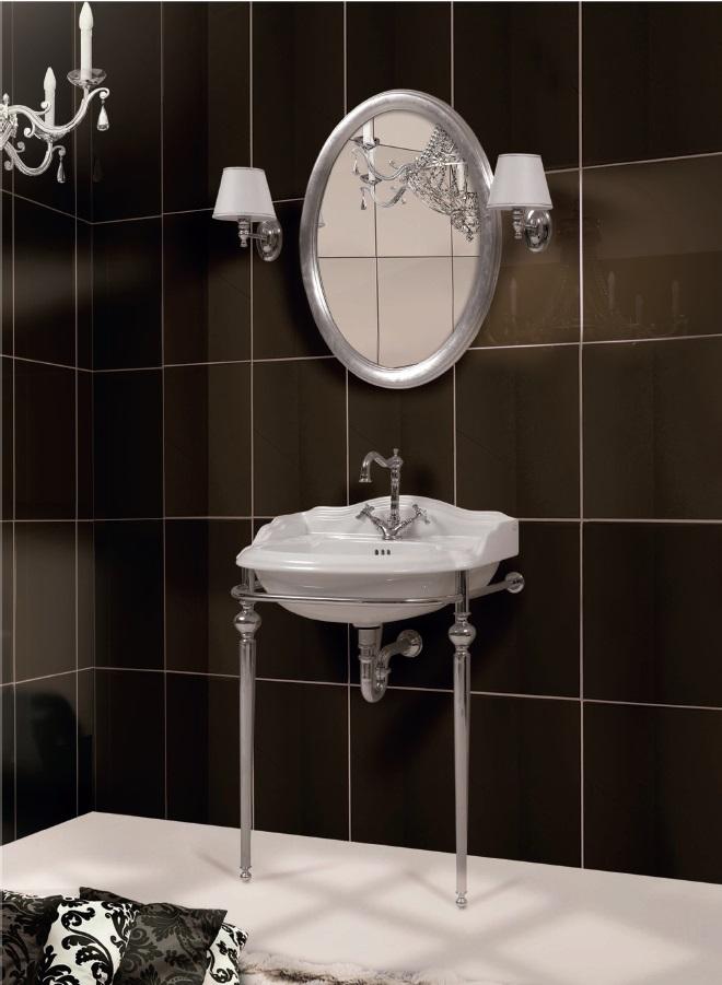 Gaia mobili - complementi - English style - mobili - Astoria - Consolle in Ottone Cromo
