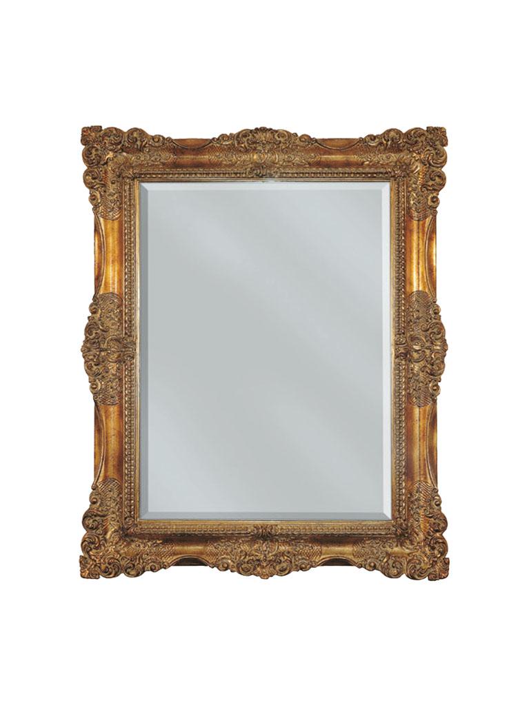 Gaia Mobili - complementi - specchiere - Basilicata - 86x116 specchio con foglia oro anticata