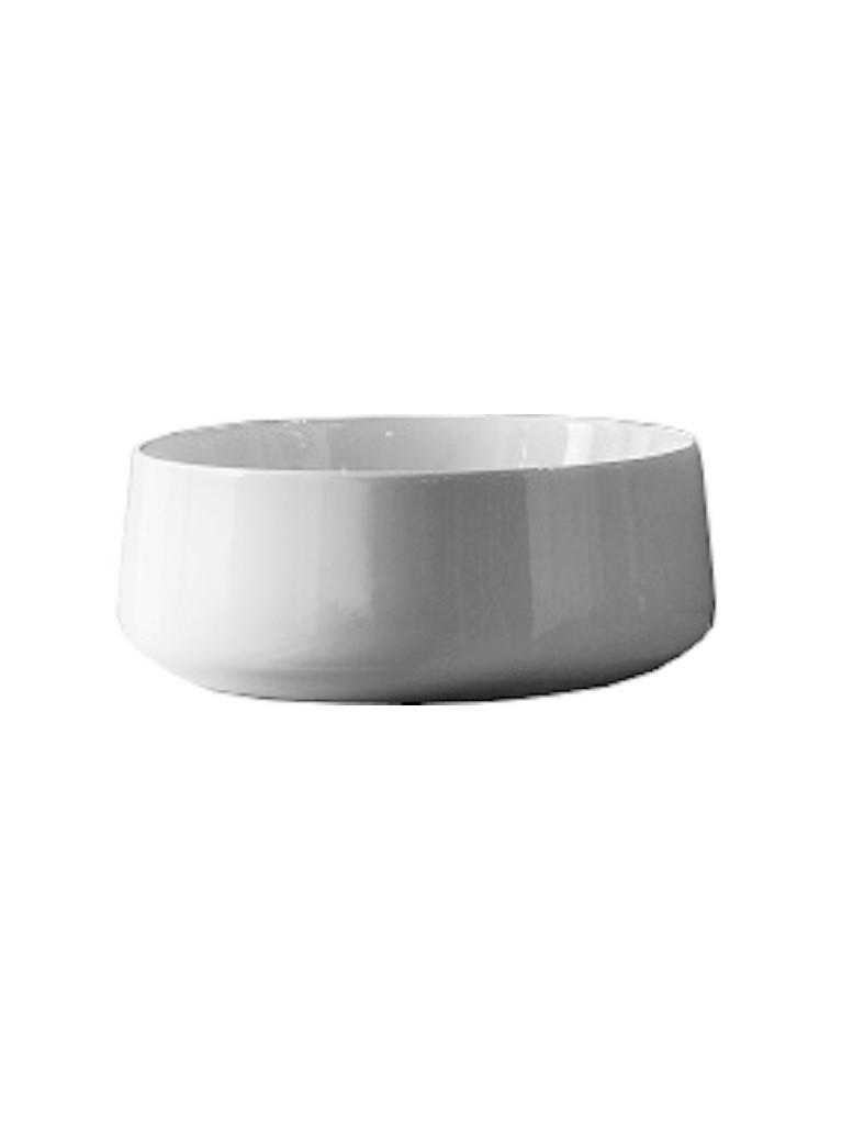 Gaia Mobili - complementi - lavabi - lavabi ceramica - BOWL - lavabo in ceramica da appoggio cm 41X41