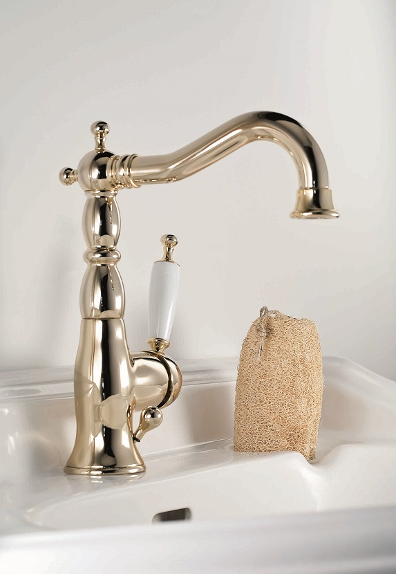 Gaia Mobili - complementi - Canterbury - rubinetteria - RB6313 - Monocomando lavabo