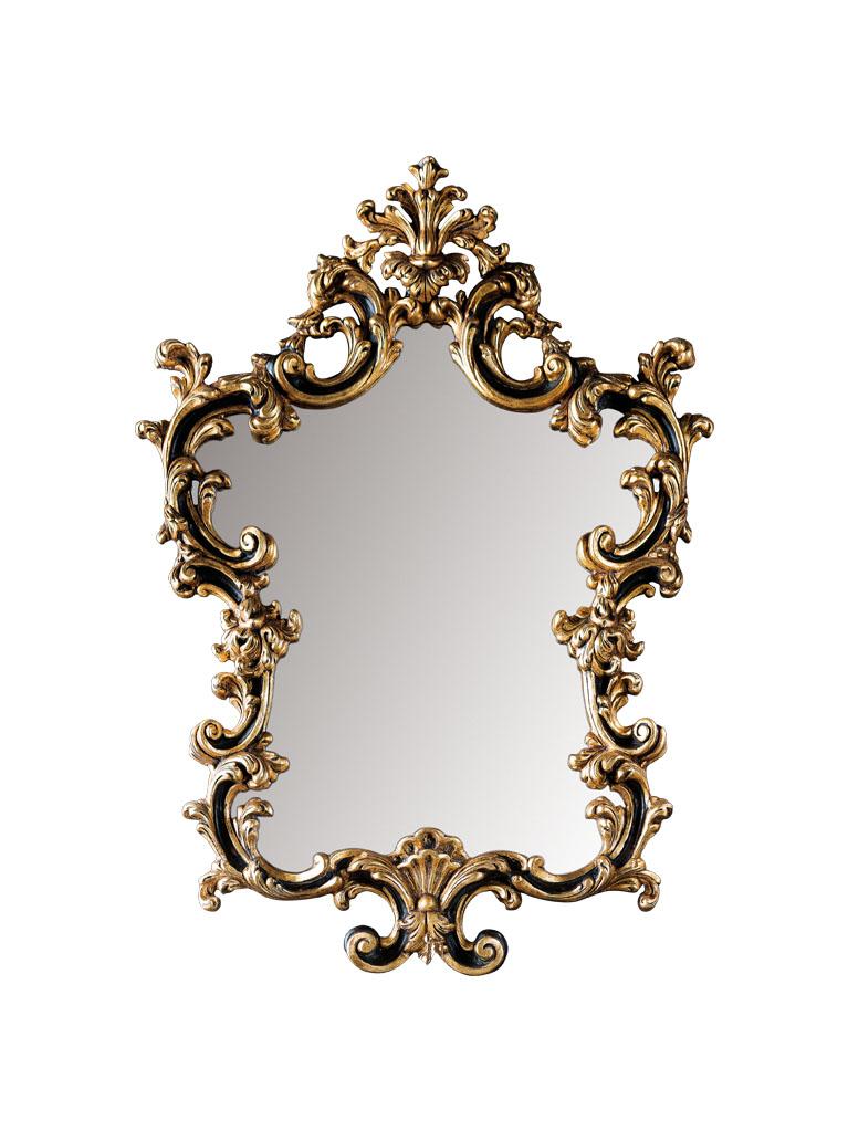 Gaia Mobili - complementi - specchiere - Chezanne - 91x126 Specchio Decorata a mano e Foglia Oro