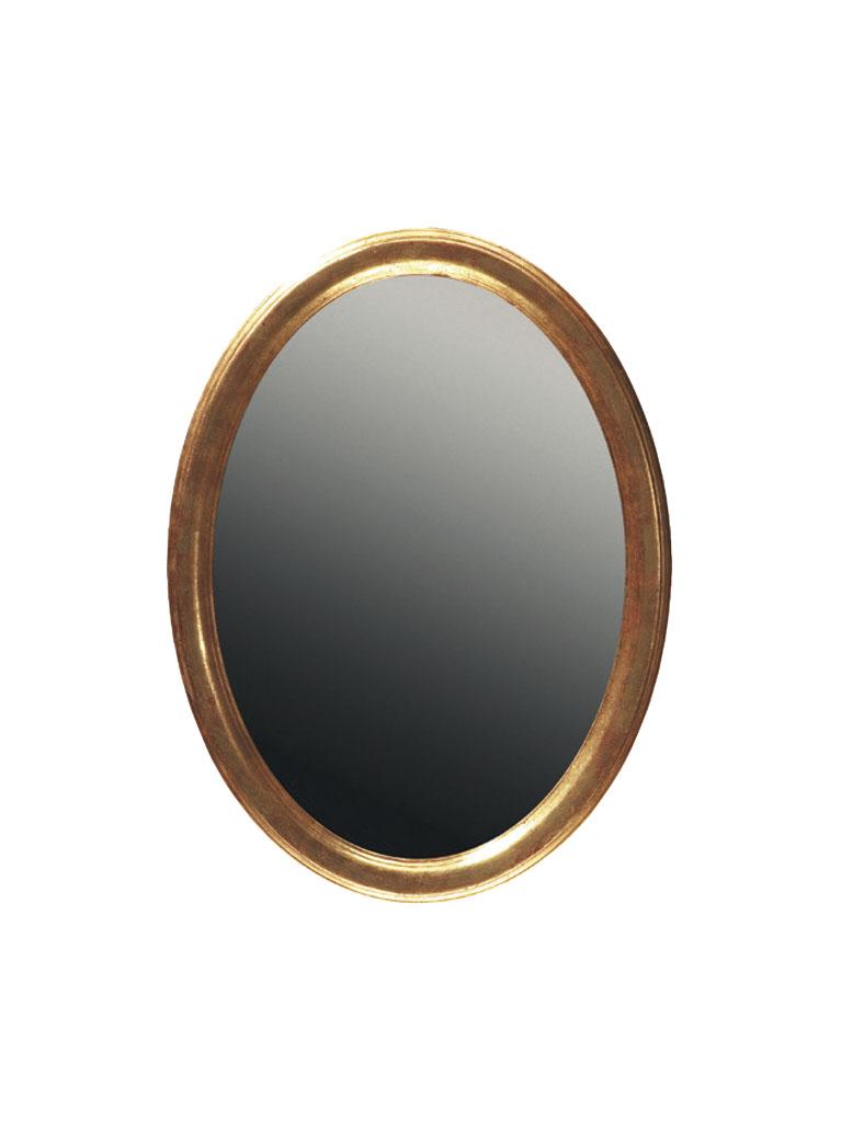 Gaia Mobili - complementi - specchiere - Chiusi - 59x79 Specchio Foglia Oro Anticata