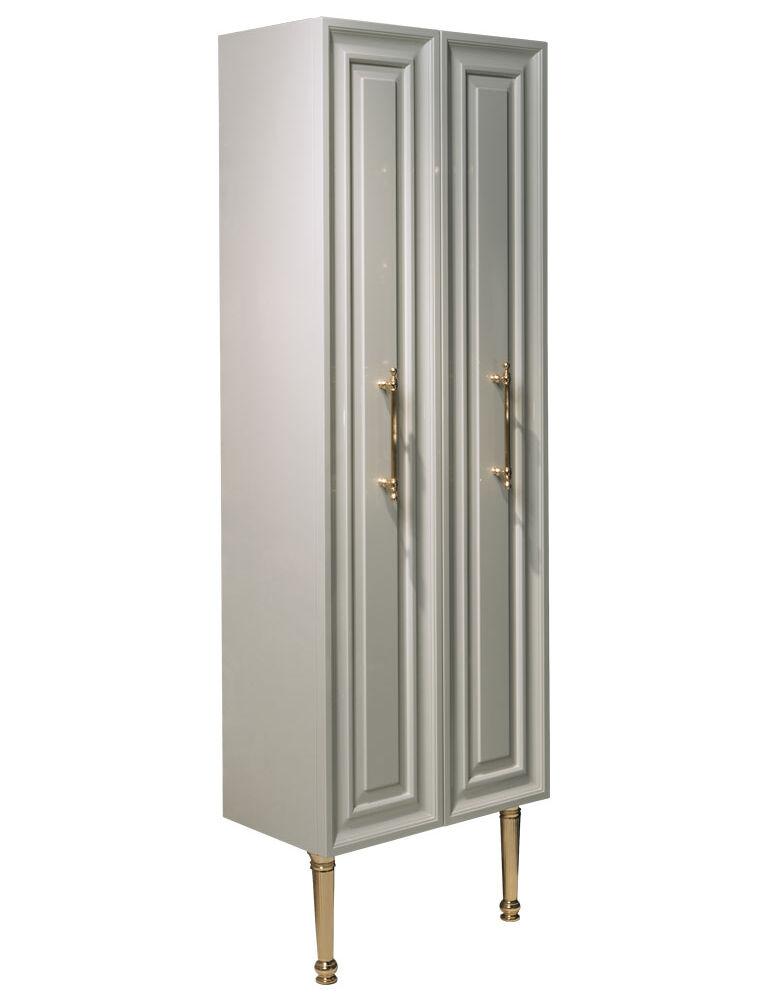 Gaia Mobili - collection - furniture - contemporary - Colonna Armonia - Laccato lucido RAL 9002 cm 70x25x185h