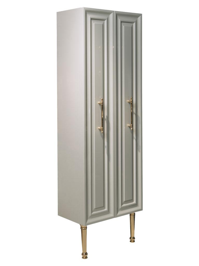 Gaia mobili - complementi - Contemporary - mobili - Colonna Armonia - Laccato lucido RAL 9002 cm 70x25x185h