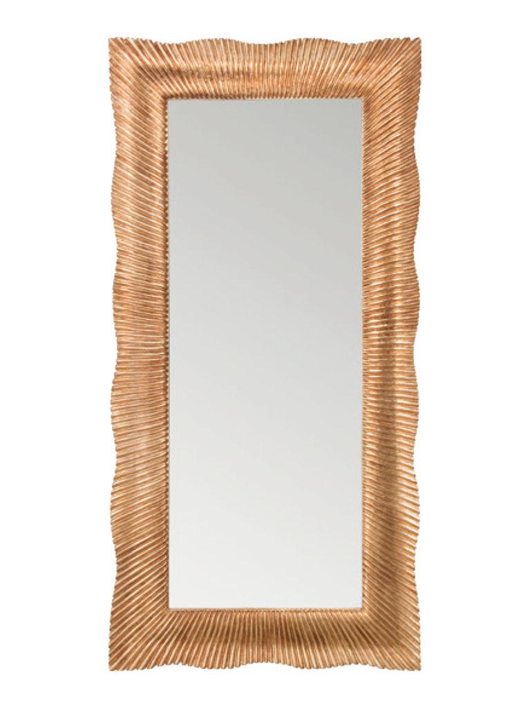 Gaia Mobili - complementi - specchiere - Croazia - 90x180 SpecchioFoglia Oro Anticata