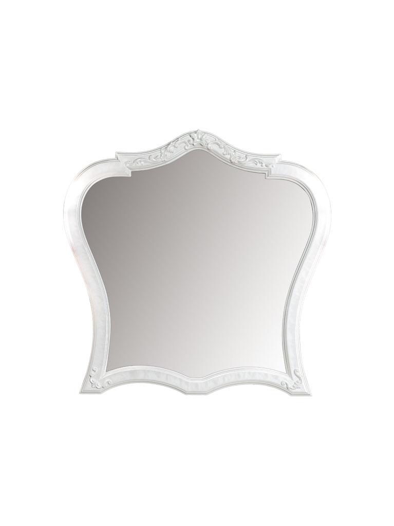 Gaia Mobili - complementi - specchiere - Dalì - 92x90 Specchio finitura laccato lucido Madreperla Bianco