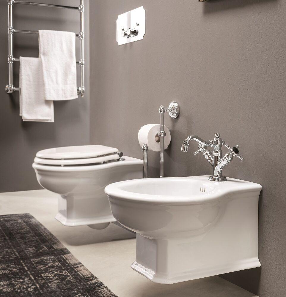 Gaia Mobili - complementi - Denver - sanitari - PHDV03 - Bidet in ceramica sospeso