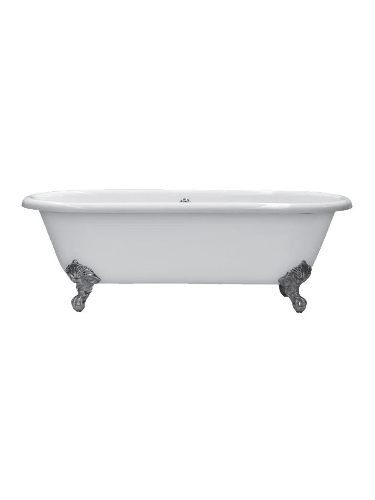 Gaia mobili - complementi - vasche - Dual 154/170 - Vasca in ghisa