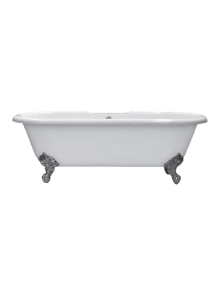 Gaia mobili - complementi - vasche - Dual 170 (2 fori) - Vasca in ghisa