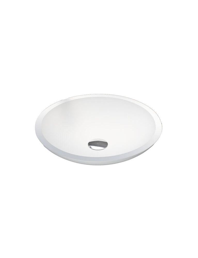 Gaia Mobili - complementi - lavabi - lavabi resina - ELLISSE0 - lavabo in resina da appoggio