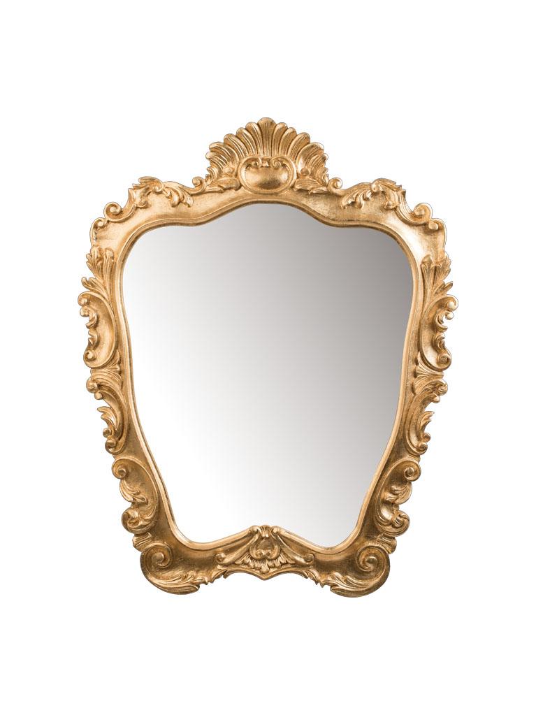 Gaia Mobili - complementi - specchiere - Fellini - 73x92 Specchio finitura foglia oro