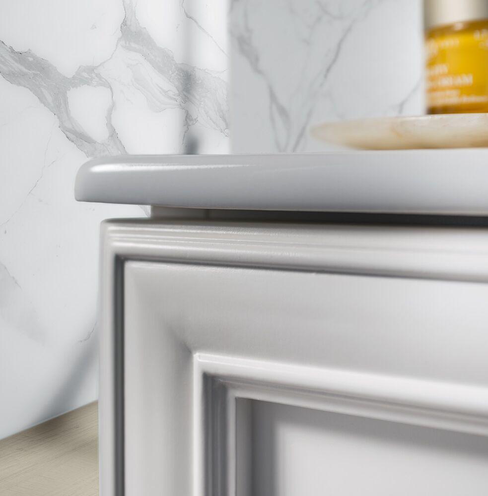 Gaia Mobili - complementi – contemporary – mobili - orizzonte 1 - lavabo in ceramica con linee semplici e pulite