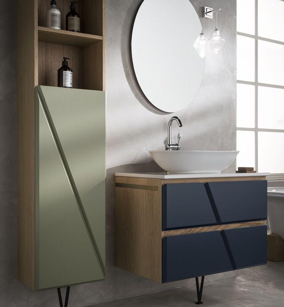 Gaia Mobili - complementi - mobili - studio - colonna standing - cm 40x25x160h