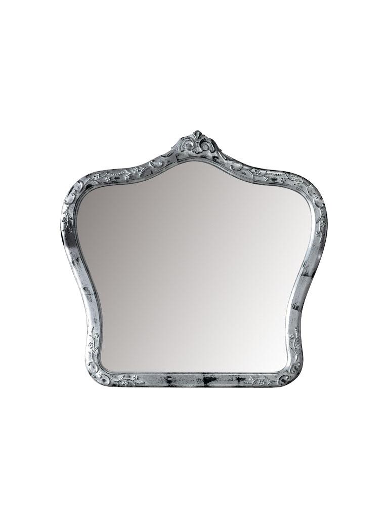 Gaia Mobili - complementi - specchiere - Gauguin - 105x100 Specchio foglia argento spazzolata