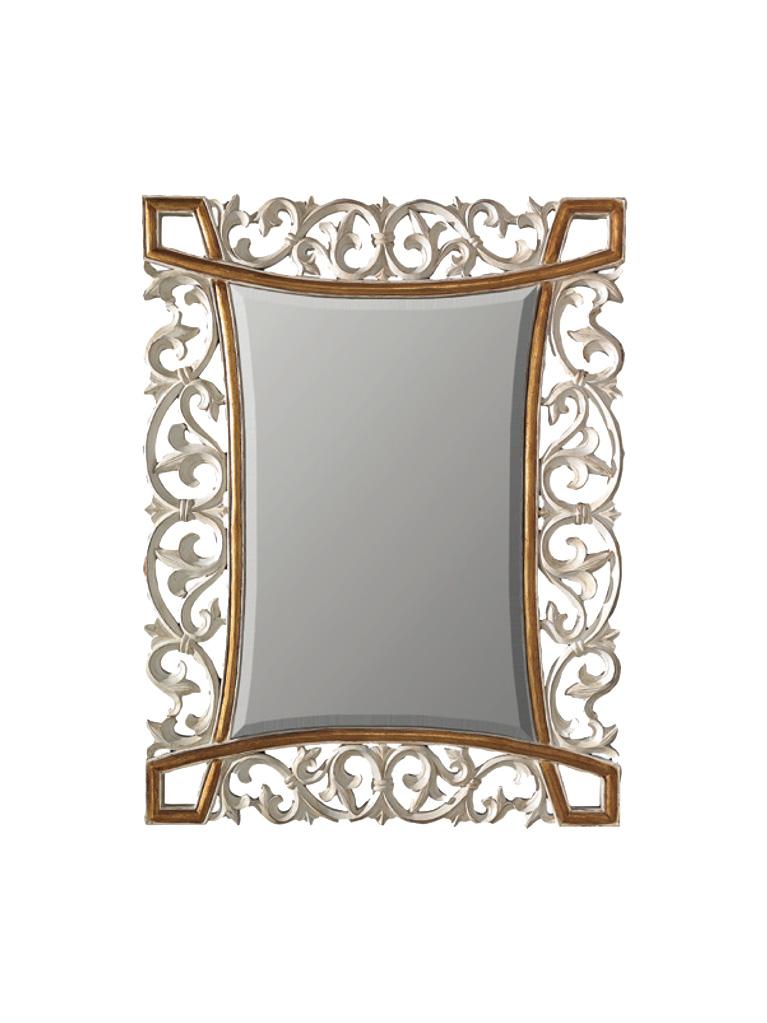 Gaia Mobili - complementi - specchiere - Joris - 94x124 Specchio decorata a mano e foglia oro