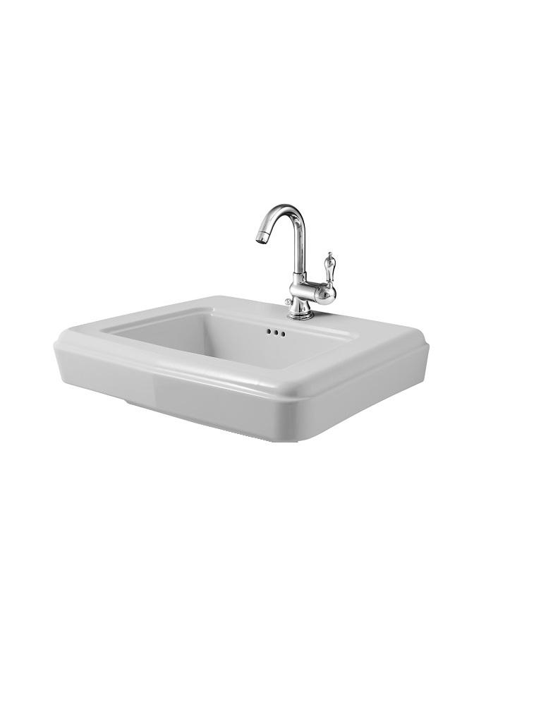 LAVAB75B - lavabo in ceramica cm 75X54
