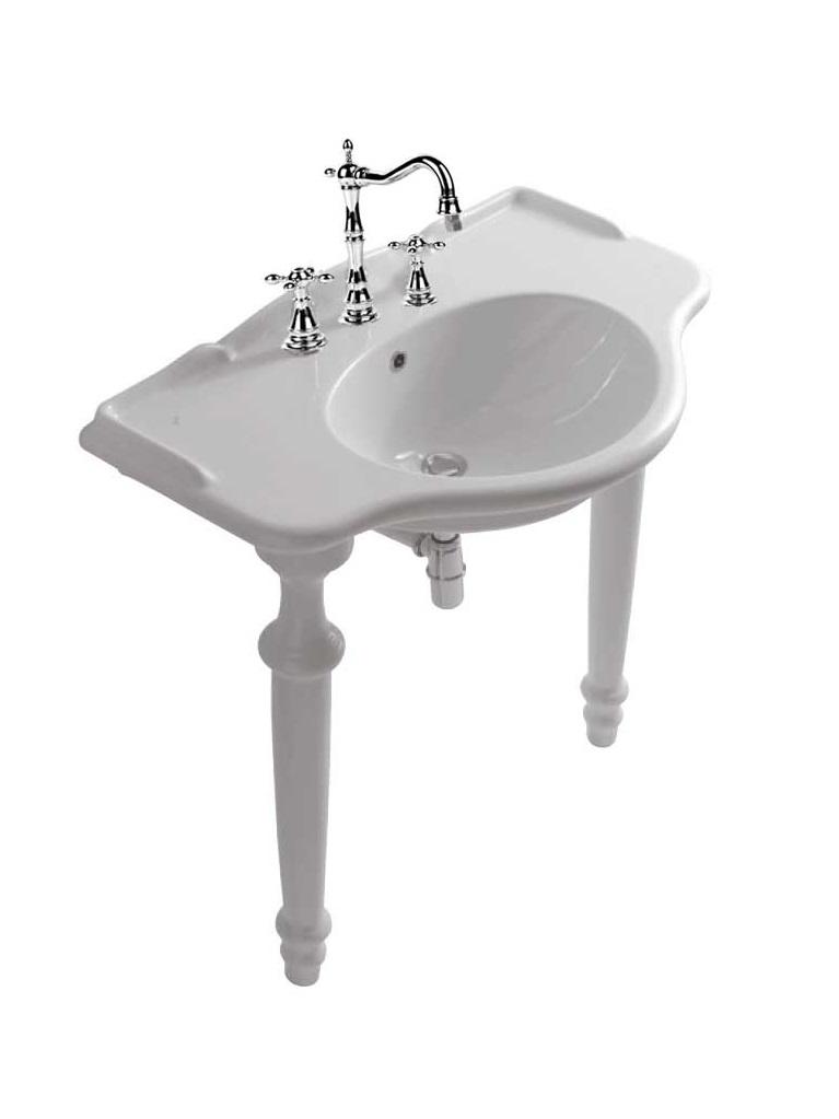 Gaia Mobili - complementi - Richmond - sanitari - LAVAB90G+PIED75G - lavabo in ceramica