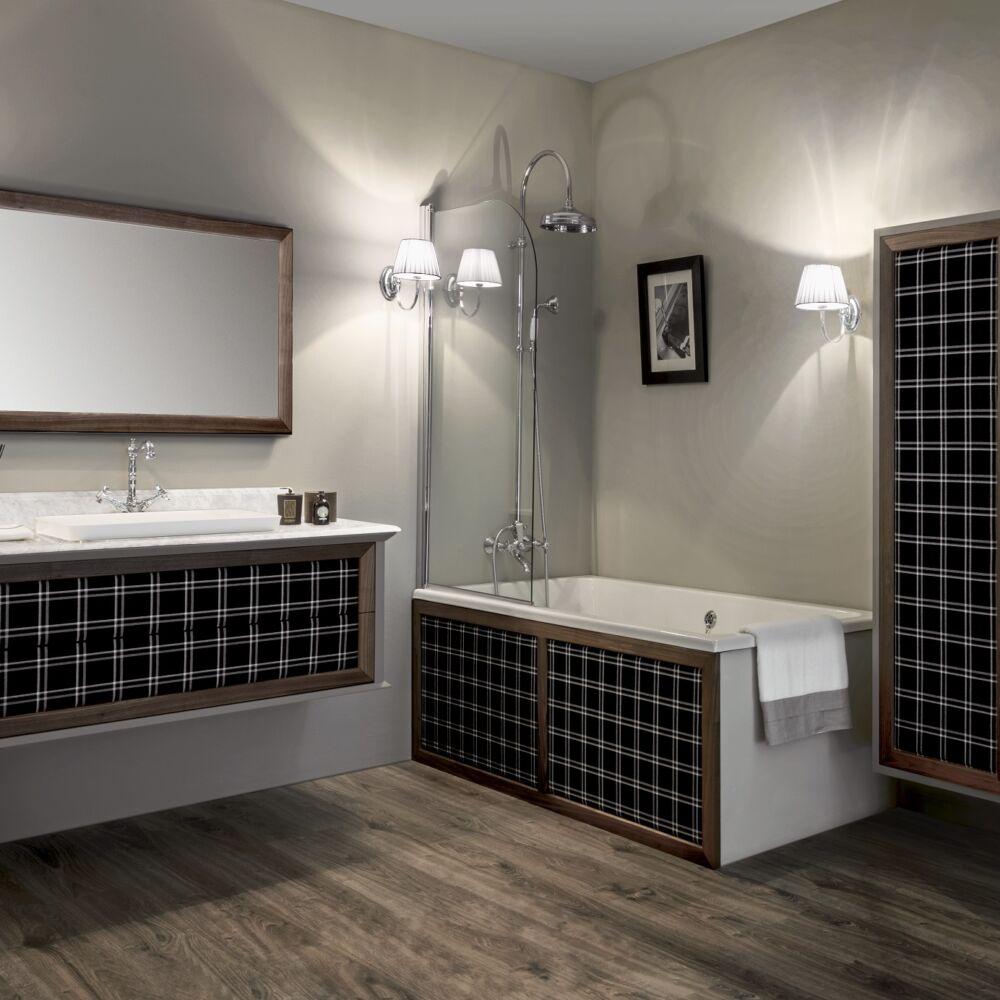 Gaia Mobili-Collection-Furniture-New Style-Loft - mobile in tessuto e noce canaletto laccatura3