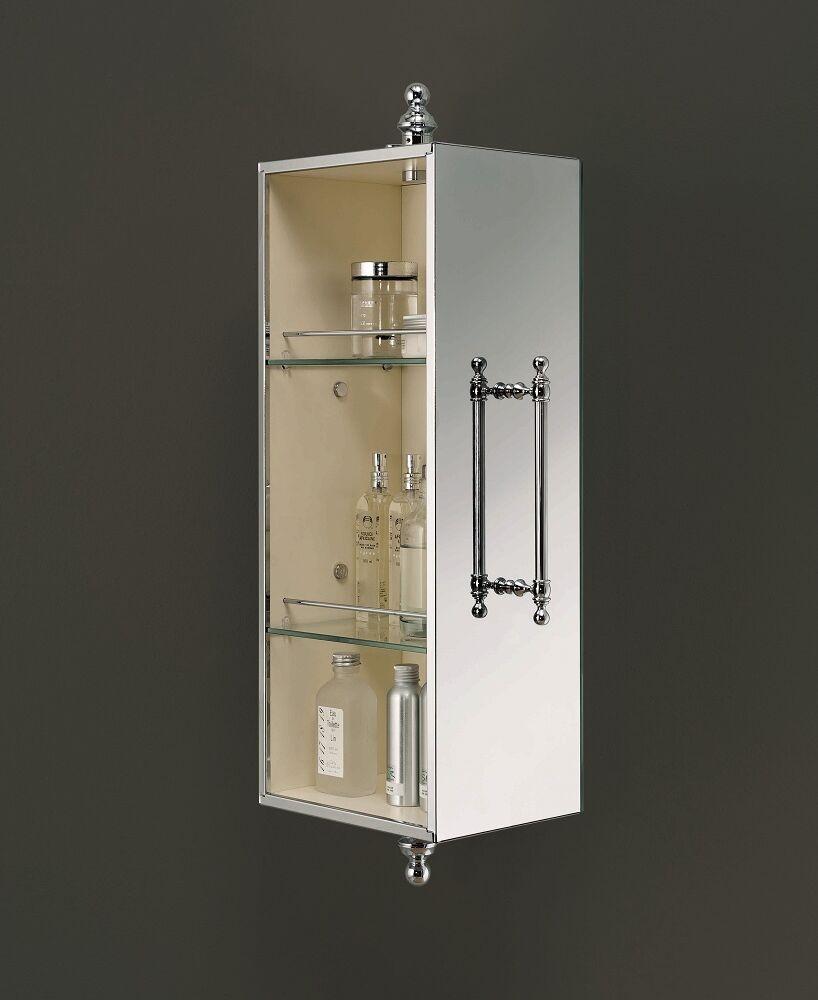 Gaia mobili - complementi - English style - mobili - Lucie Parete - ASLU00 Lucie colonna girevole a parete con specchio