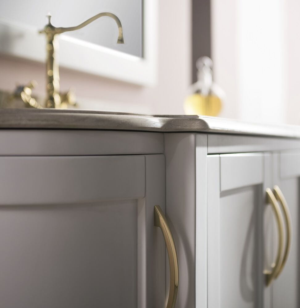 Gaia Mobili - classic - complementi - mobili - babele - lavabo in ceramica con top in marmo