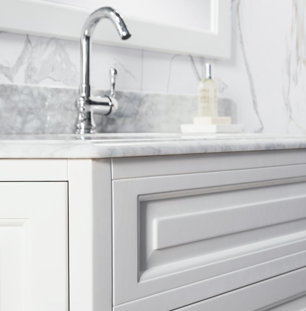 Gaia Mobili - classic - complementi - mobili - nemesi - lavabo in ceramica con top in marmo