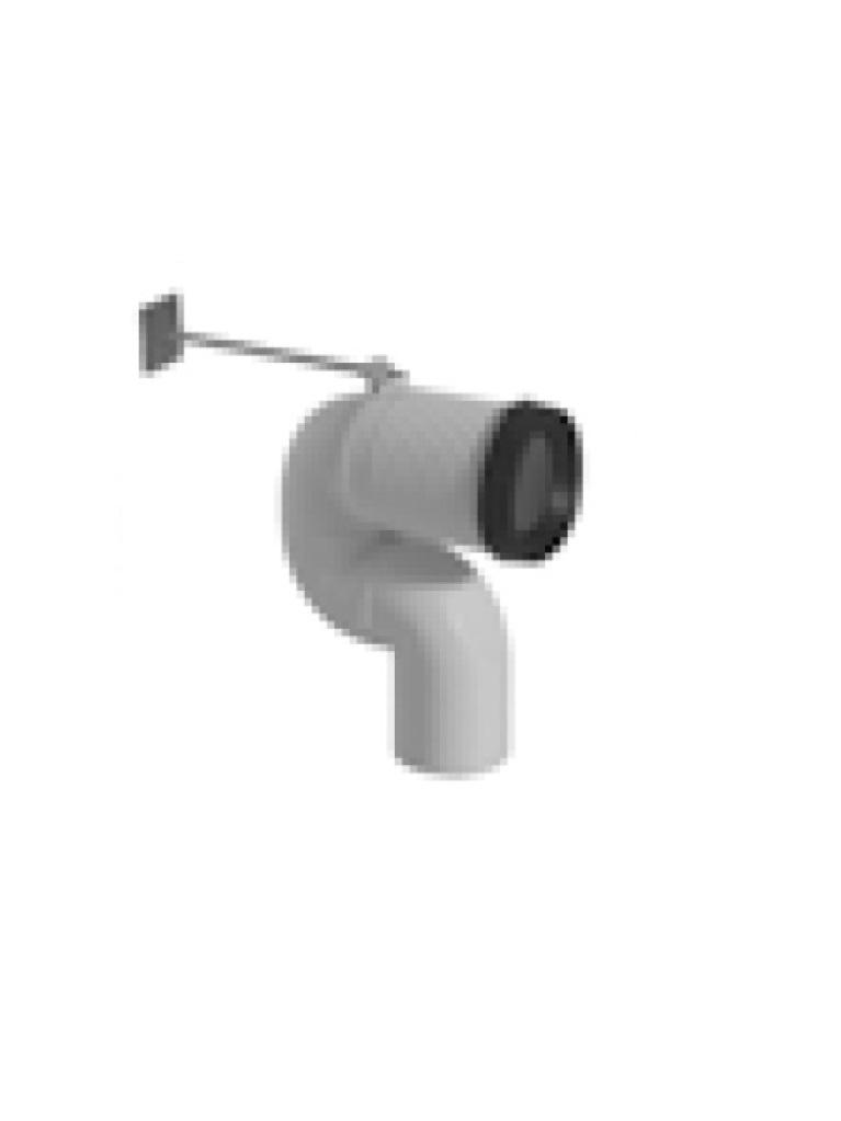 Gaia Mobili - accessori sanitari - complementi - sanitari - PG078F - Raccordo in PVC per scarico a pavimento regolabile da 20 a 27 cm