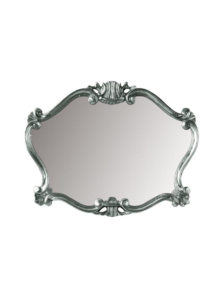 Gaia Mobili - complementi - specchiere - Pissarro - 92x70 Specchio foglia argento