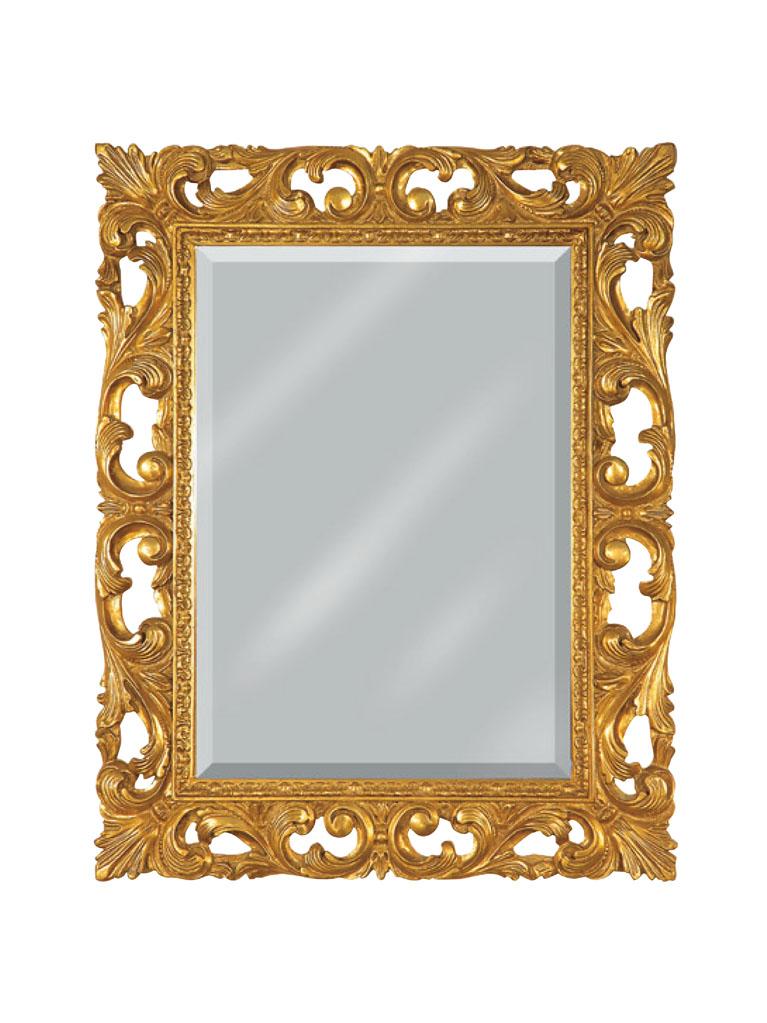 Gaia Mobili - complementi - specchiere - Puglia - 75x95 Specchio Foglia Oro