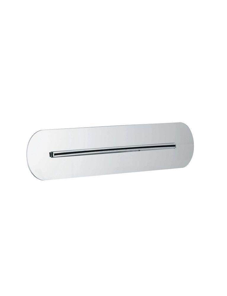 Gaia Mobili - accessori rubinetteria - complementi - rubinetteria - RF519 - Soffione da incasso a parete con getto a cascata