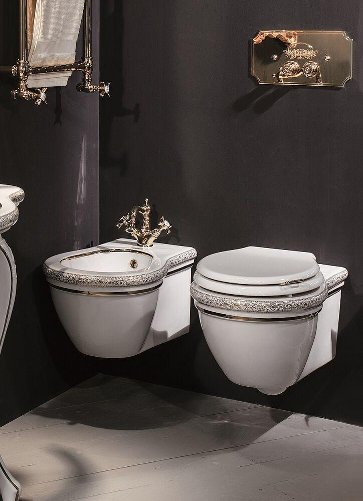 Gaia Mobili - complementi - Richmond - sanitari - PGRH01 - Vaso in ceramica sospeso